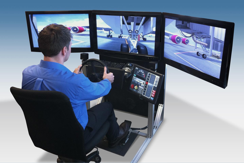 Aircraft Pushback and Tow Simulator