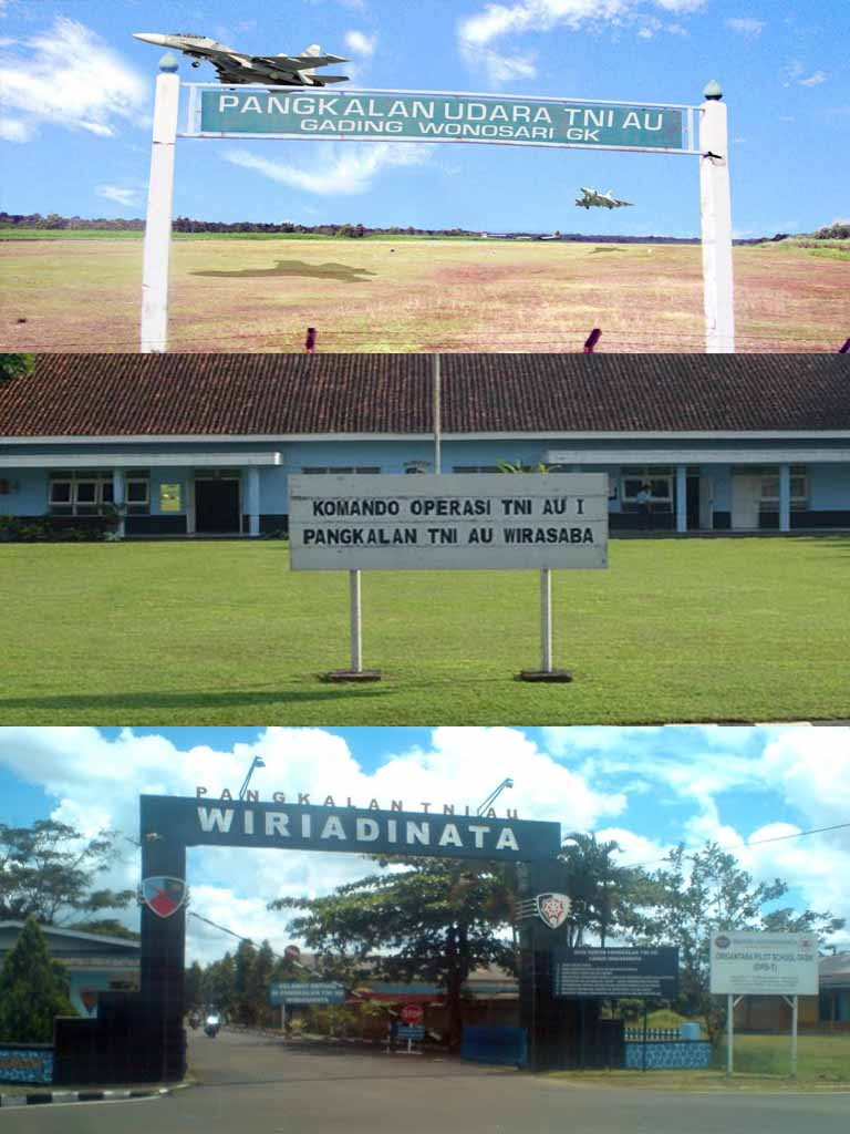Infopenerbangan.com/Tiga Bandara Milik TNI AU Ini Akan Dikomersialkan