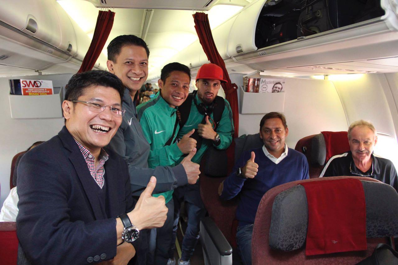Infopenerbangan.com/Timnas Indonesia