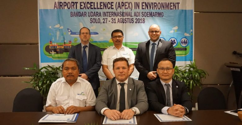 Pertama di Asia, Angkasa Pura I (Persero) daan Airport Council International (ACI) Gelar Program Airport Excellence (APEX) In Environment Di Bandara Internasional Adi Soemarmo Solo