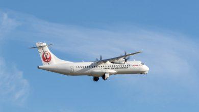 ATR 72-600 TERBANG DALAM WARNA KOMUTER UDARA JEPANG