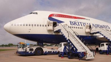 BRITISH AIRWAYS TUJUAN JERMAN SALAH MENDARAT DI SKOTLANDIA
